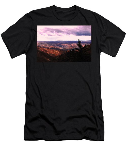 Men's T-Shirt (Slim Fit) featuring the photograph Peaceful Valley by Matt Harang