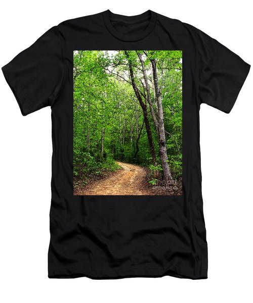 Peaceful Walk Men's T-Shirt (Athletic Fit)