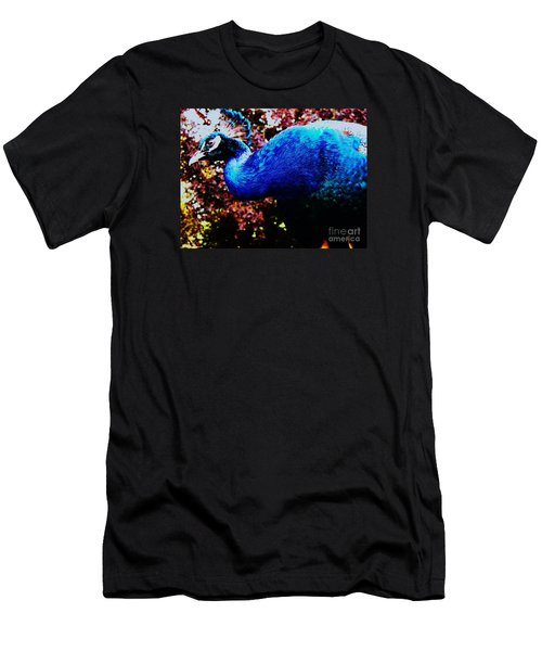 Peacock Profile Men's T-Shirt (Athletic Fit)