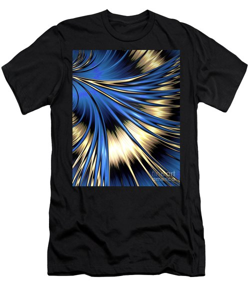Peacock Tail Feather Men's T-Shirt (Athletic Fit)