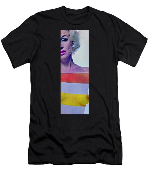 Peek A Boo Marilyn  Monroe Men's T-Shirt (Athletic Fit)