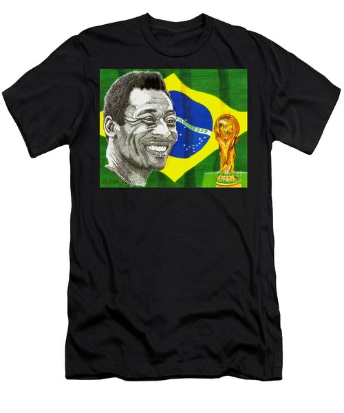 Pele Men's T-Shirt (Athletic Fit)