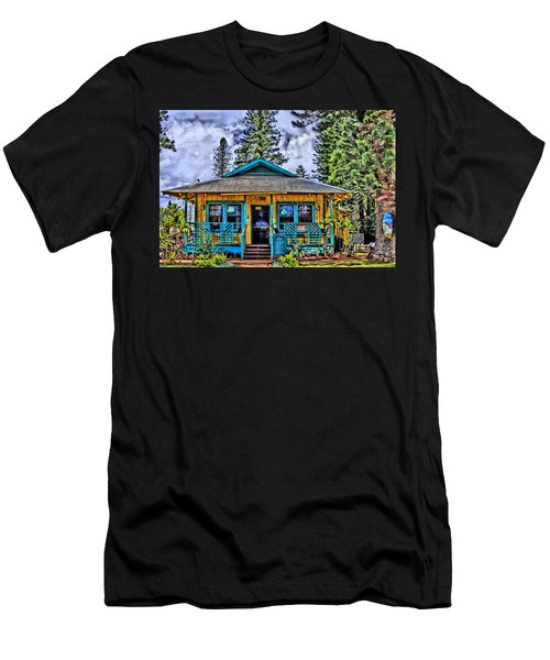 Pele's Lanai Island Hawaii Men's T-Shirt (Slim Fit) by DJ Florek