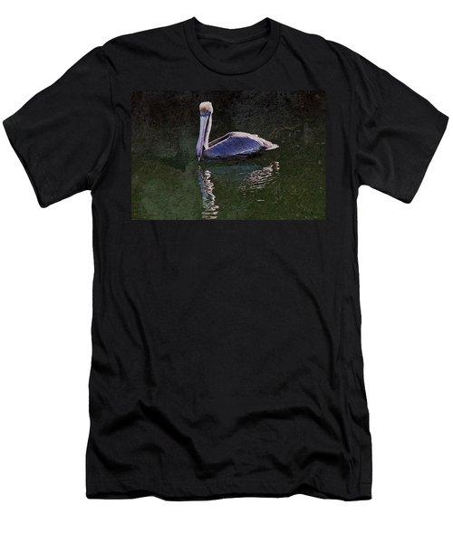 Pelican Zen Men's T-Shirt (Slim Fit) by Suzanne Stout