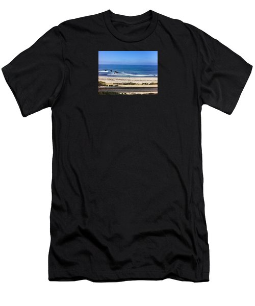 Pelicans And Rider Men's T-Shirt (Athletic Fit)