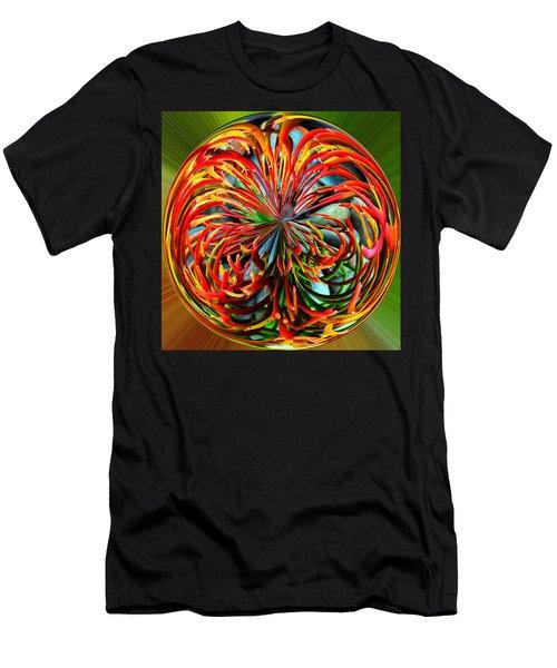 Pencil Tree Ball Men's T-Shirt (Athletic Fit)