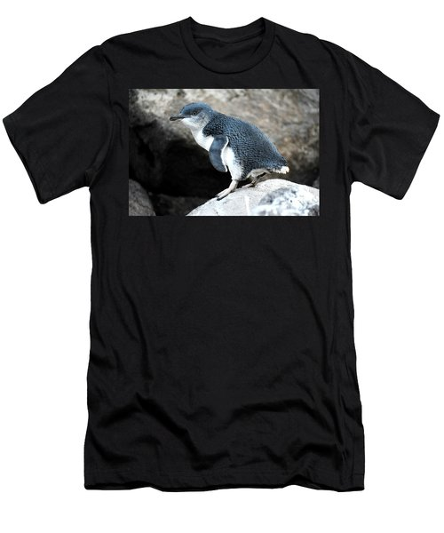Men's T-Shirt (Athletic Fit) featuring the photograph Penguin by Yew Kwang