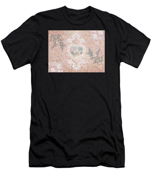Penny Postcard Passionate Men's T-Shirt (Athletic Fit)