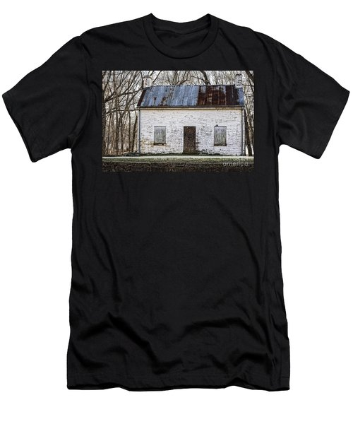 Pennyfield Lockhouse On The C And O Canal In Potomac Maryland Men's T-Shirt (Athletic Fit)