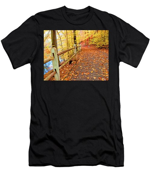 Pennypack Trail Philadelphia Fall Men's T-Shirt (Athletic Fit)