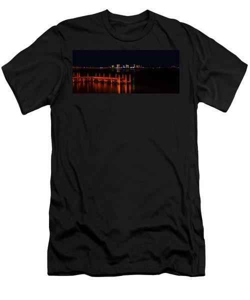 Pensacola Beach Reflections Men's T-Shirt (Athletic Fit)