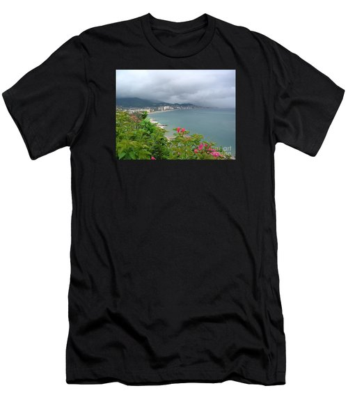 Penthouse View - Puerto Vallarta Men's T-Shirt (Athletic Fit)