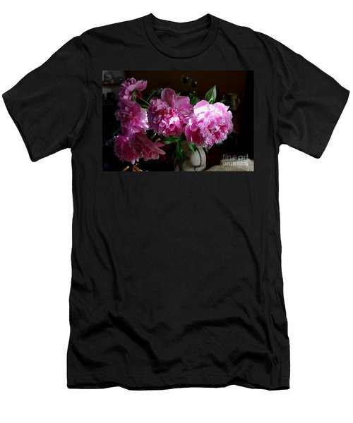 Peonies2 Men's T-Shirt (Athletic Fit)