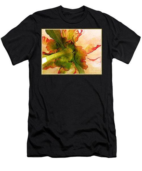 Peony Flirt Men's T-Shirt (Athletic Fit)