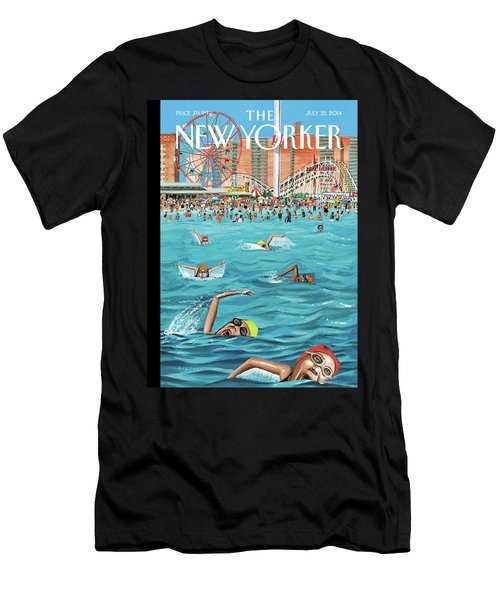 Coney Island Men's T-Shirt (Athletic Fit)