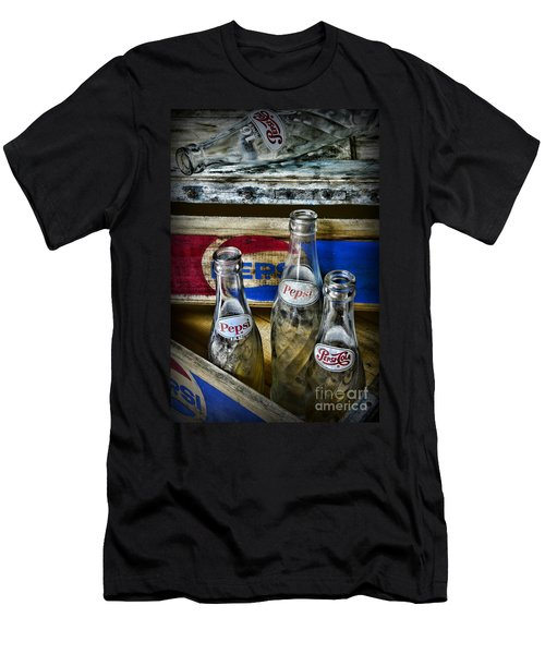 Pepsi Bottles And Crates Men's T-Shirt (Athletic Fit)