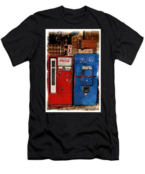 Pepsi Vs Coke Men's T-Shirt (Athletic Fit)
