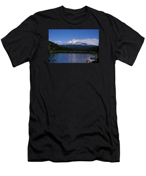 Perfect Day At Trillium Lake Men's T-Shirt (Athletic Fit)