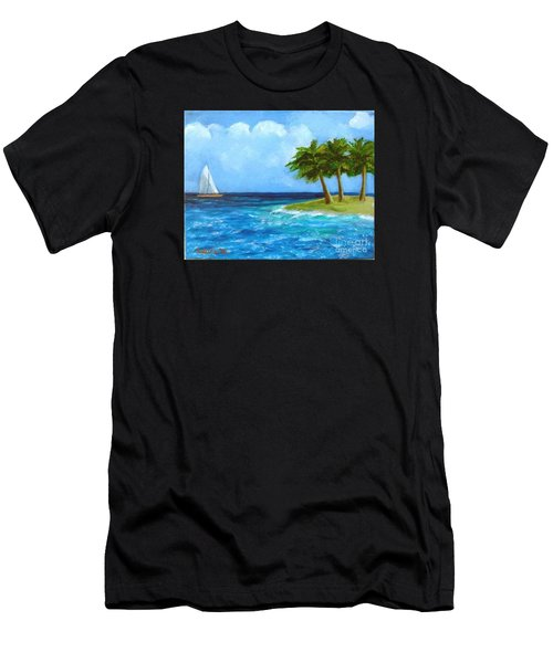 Perfect Sailing Day Men's T-Shirt (Athletic Fit)