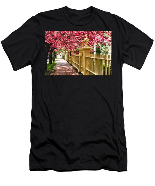 Perfect Time For A Spring Walk Men's T-Shirt (Athletic Fit)