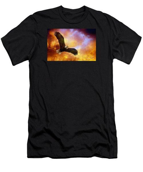 Perseverance Men's T-Shirt (Slim Fit) by Lois Bryan