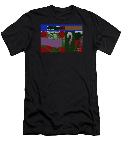 Men's T-Shirt (Slim Fit) featuring the photograph Persistence by Tina M Wenger
