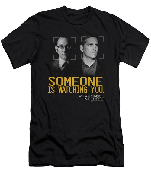 Person Of Interest - Someone Men's T-Shirt (Slim Fit) by Brand A