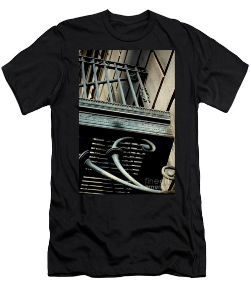 Men's T-Shirt (Athletic Fit) featuring the photograph Perspective by Christiane Hellner-OBrien