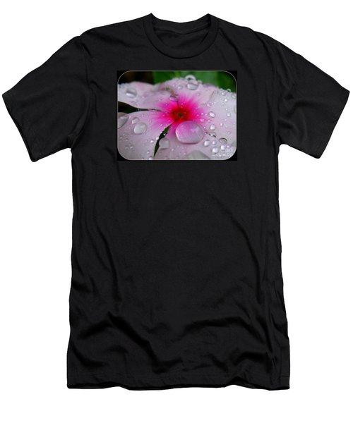 Petal Surfing Men's T-Shirt (Slim Fit) by Patti Whitten