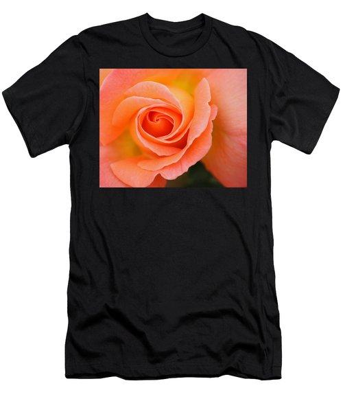 Petals Of Peach Men's T-Shirt (Athletic Fit)