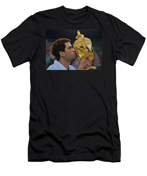 Pete Sampras Men's T-Shirt (Athletic Fit)