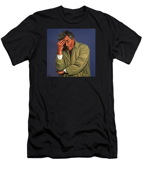 Peter Falk As Columbo Men's T-Shirt (Athletic Fit)