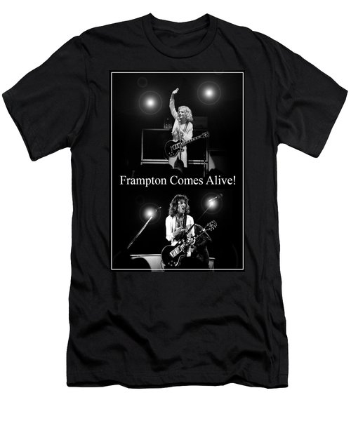 Peter Frampton Live Men's T-Shirt (Athletic Fit)