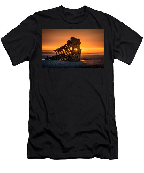 Peter Iredale Ship Men's T-Shirt (Slim Fit) by James Hammond