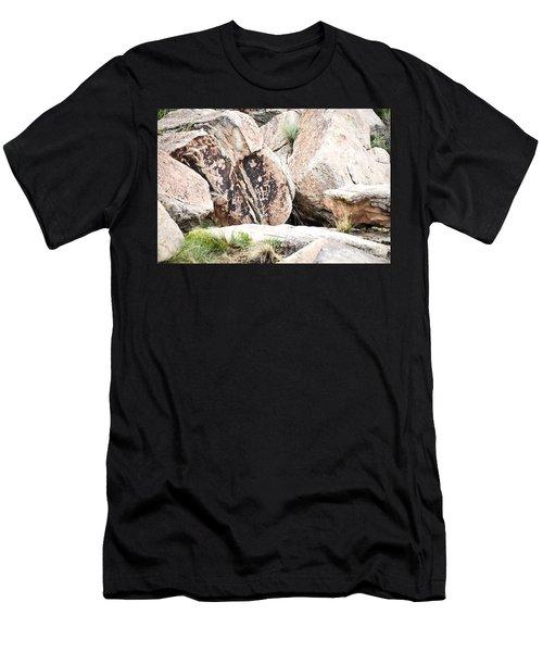 Petroglyph Men's T-Shirt (Athletic Fit)