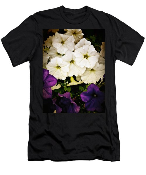Petunias Men's T-Shirt (Athletic Fit)
