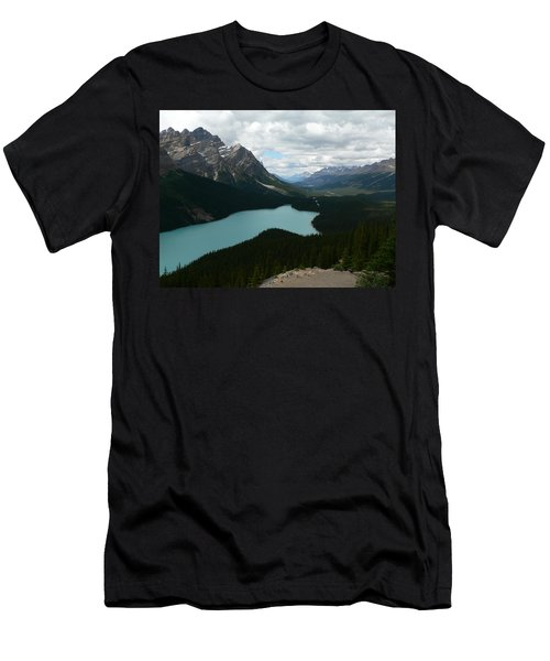 Peyote Lake In Banff Alberta Men's T-Shirt (Athletic Fit)