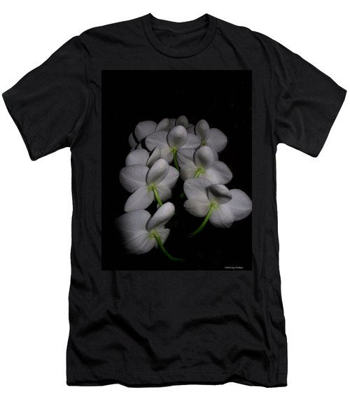 Phalaenopsis Backs Men's T-Shirt (Slim Fit) by Joyce Dickens