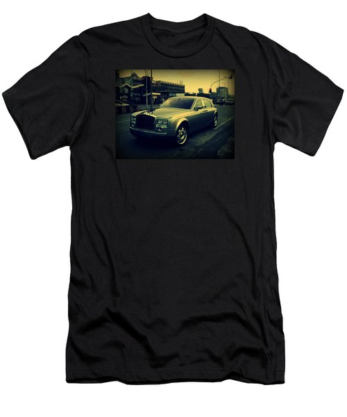 Men's T-Shirt (Slim Fit) featuring the photograph Rolls Royce Phantom by Salman Ravish