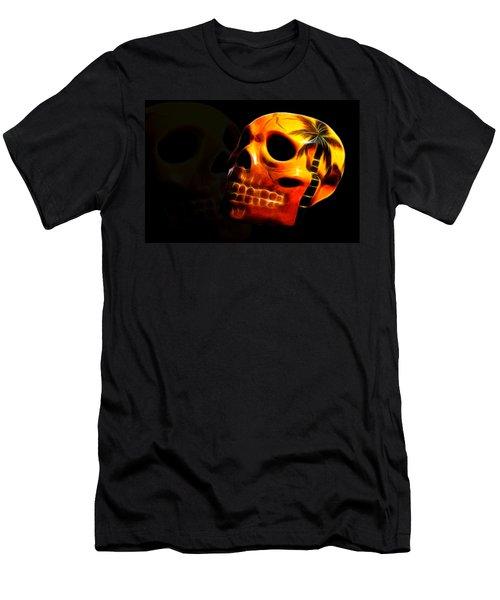 Phantom Skull Men's T-Shirt (Athletic Fit)