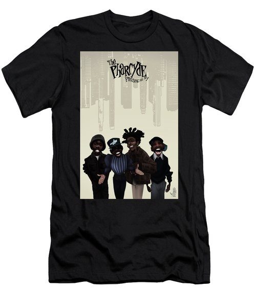 Pharcyde -passing Me By 1 Men's T-Shirt (Athletic Fit)