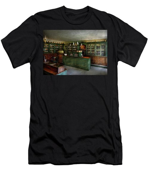 Pharmacy - The Chemist Shop  Men's T-Shirt (Slim Fit) by Mike Savad