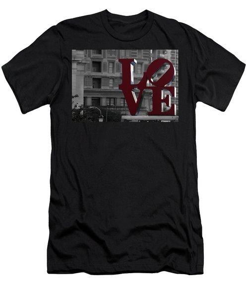 Philadelphia Love Men's T-Shirt (Athletic Fit)