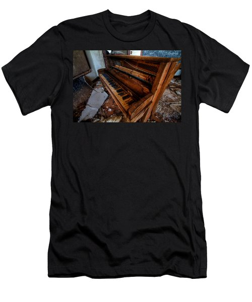 Piano Lessons Men's T-Shirt (Athletic Fit)