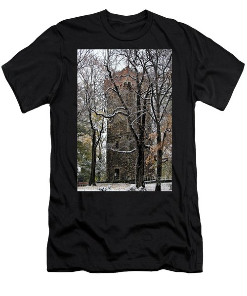 Piastowska Tower In Cieszyn Men's T-Shirt (Athletic Fit)