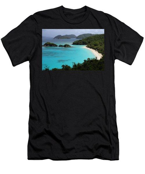 Piece Of Paradise Men's T-Shirt (Athletic Fit)