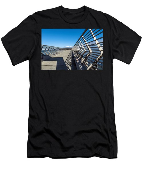 Pier Perspective Men's T-Shirt (Athletic Fit)