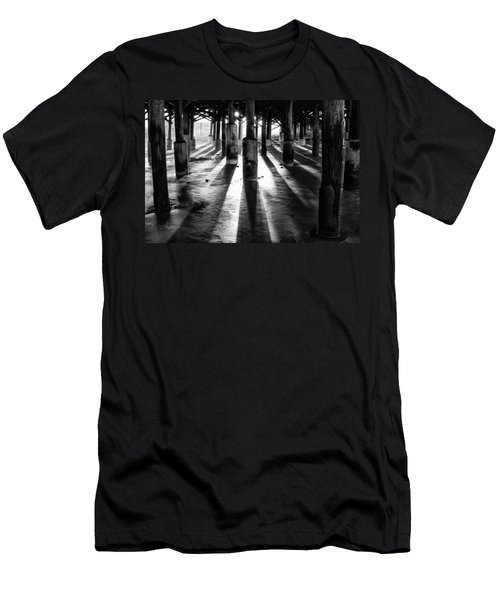 Pier Shadows Men's T-Shirt (Athletic Fit)