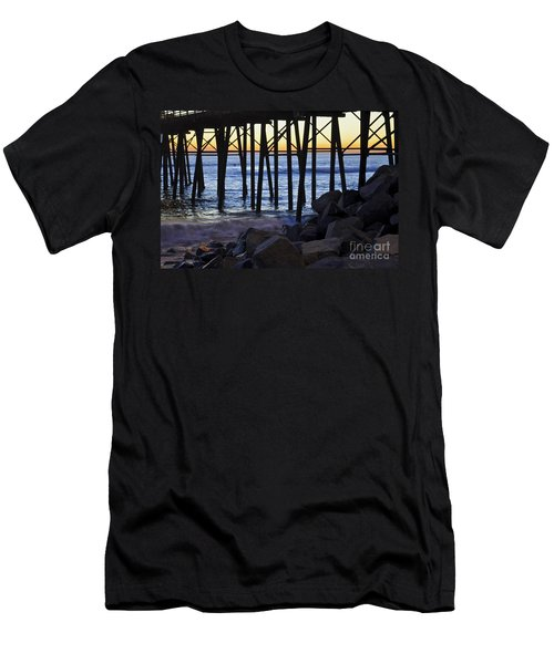 Pier Through  Men's T-Shirt (Athletic Fit)