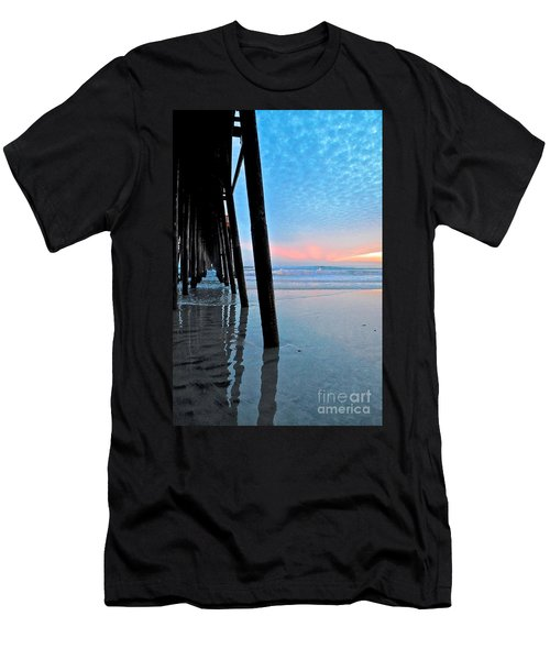 Pier Under Men's T-Shirt (Athletic Fit)